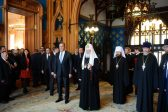 Patriarch Kirill Attends Easter Reception at Russia's Ministry of Foreign Affairs