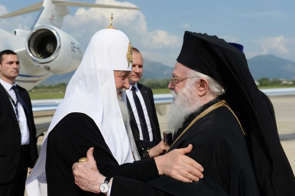 Patriarch Kirill Begins His Visit to the Albanian Orthodox Church