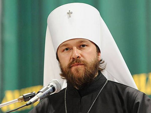 Metropolitan Hilarion: If the Project for Ukrainian Autocephaly is Carried Through, it will Mean a Tragic and Possibly Irretrievable Schism of the Whole Orthodoxy