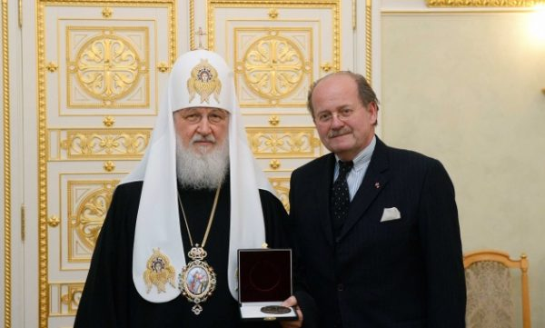 Primate of Russian Church meets with chair of the Austrian Association of Mauthausen Survivors