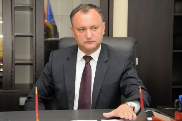 Dodon Stresses Importance of Orthodoxy among Moldavia's National Priorities