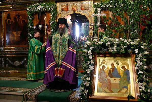Why Do We Decorate Churches with Grass, Flowers and Tree Branches on Pentecost?