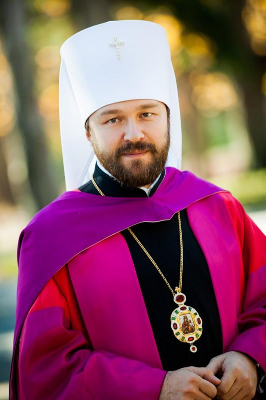 Metropolitan Hilarion Does Not Share Patriarch Bartholomew's Opinion about Inevitable Unification of Churches