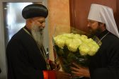 Head of Ethiopian Orthodox Tewahedo Church Arrives in Moscow