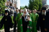 Patriarch Kirill: Connection with the Holy Spirit is the Key to the Ability to Create when Physical Strength Fades