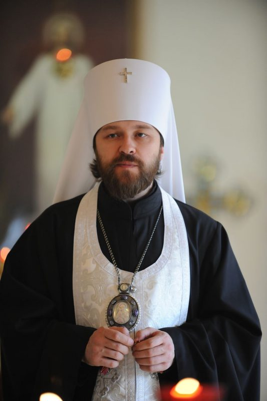 "Metropolitan Hilarion, ""All the Holy Synod Members Have Supported the Canonical Ukrainian Orthodox Church"""