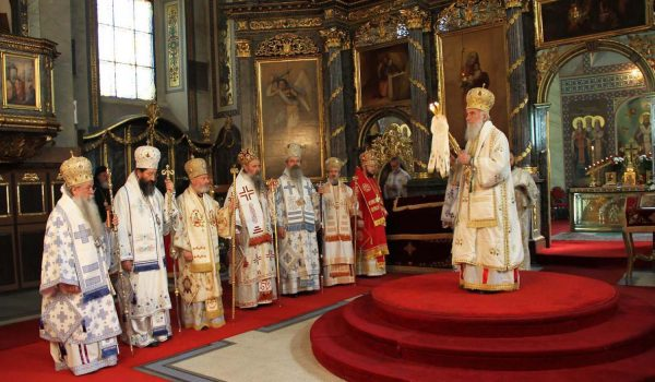 Message of the Holy Assembly of Bishops on Kosovo and Metohija
