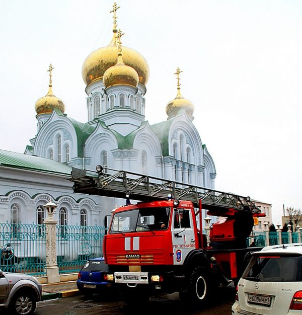 Russian Church Does not Approve of  Rules' Tightening Up On Fire- and Counter-terrorist Protection in Churches