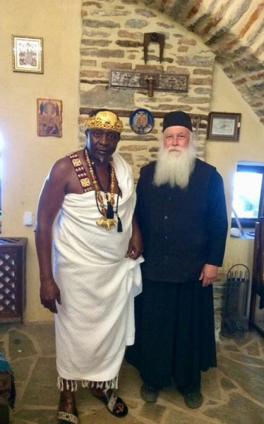 African King from Ivory Coast Baptized into the Orthodox Church