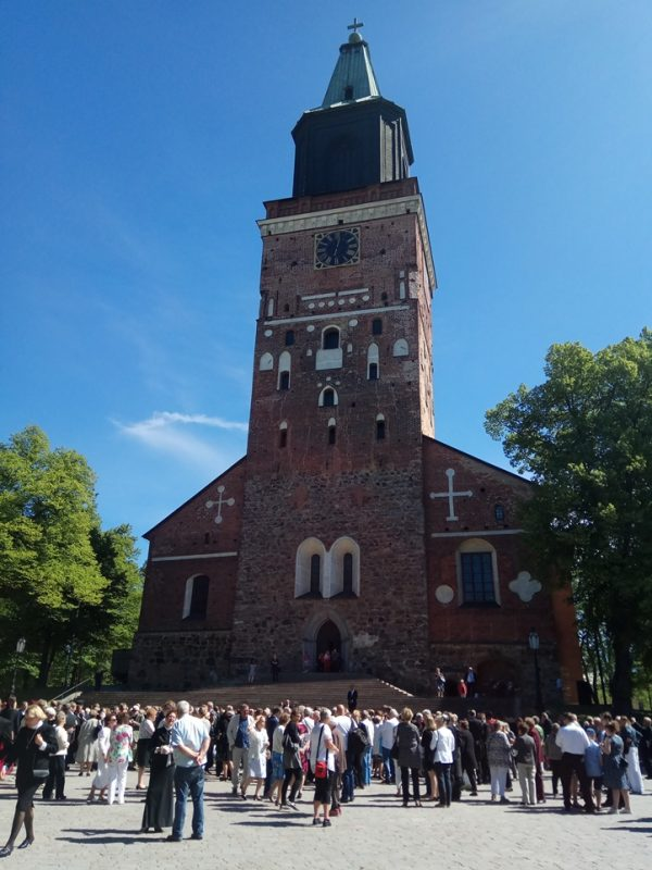 Moscow Patriarchate Delegation attends Enthronement of New Head of Finnish Lutherans