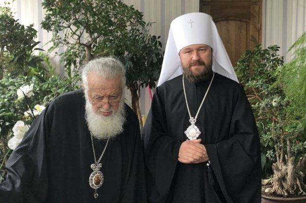 Metropolitan Hilarion of Volokolamsk Meets with the Primate of the Georgian Orthodox Church