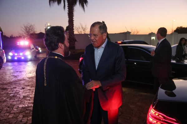 Sergey Lavrov Visits St. Sergius Church in the Republic of South Africa