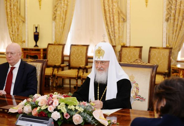 "Patriarch Kirill, ""Evil Comes from Human Heart"""