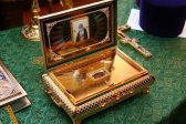 The Holy Relics of St. Seraphim of Sarov are Brought to Oxford