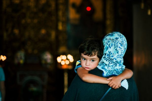 Archimandrite Andrew (Konanos): In Church Child Hears Fine Words but at Home Passions Run High