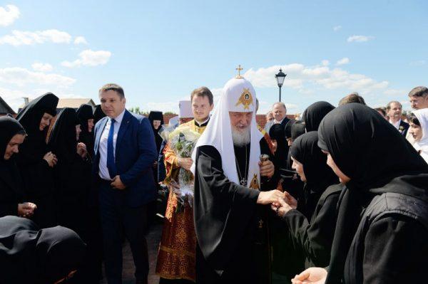 Patriarch Kirill Consecrates Church of Venerable Martyr Elizabeth in St. Elizabeth Convent in Alapayevsk