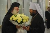 Primate of Orthodox Church of Alexandria Arrives in Moscow