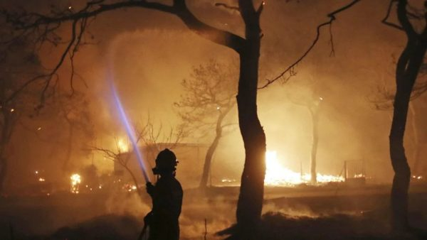 Updated: State of Emergency in Greece as Wildfires Continue, Leaving at Least 50 Dead
