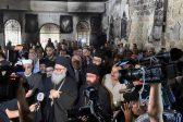 Patriarch John X visits Eastern Ghouta