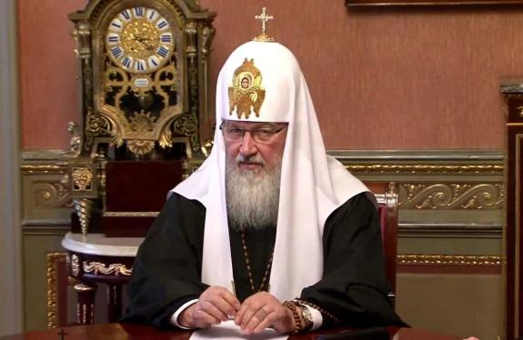His Holiness Patriarch Kirill Meets with Delegation of the Patriarchate of Constantinople