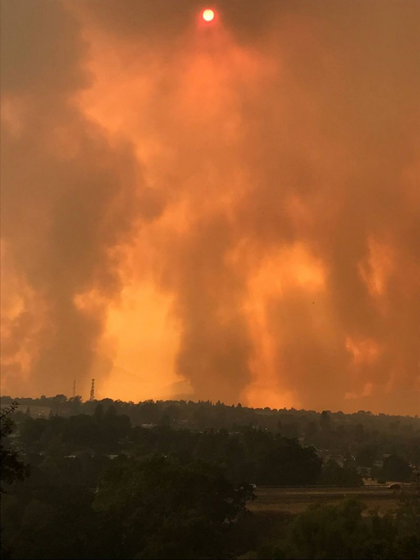 Wildfire Ravages California; Bethel Church, Victims Say 'God's Got Us'