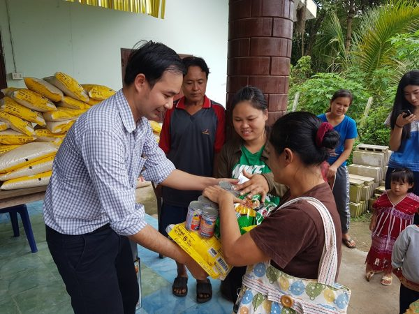 Patriarchal Deanery in Thailand has Given Humanitarian Aids to Karen Refugees