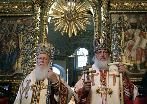 Patriarch Kirill to Meet Patriarch Bartholomew in Istanbul on Aug 31