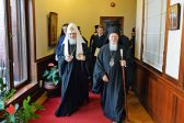 Primates of Church of Constantinople and Russian Orthodox Church Meet