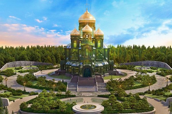 About 1 Billion Rubles for Building the Main Church of Russian Military Forces Collected in Two Weeks
