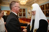 Patriarch Kirill Meets with a Delegation of the Evangelical Lutheran Church of Finland