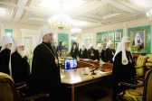 Patriarch Kirill Chairs Extraordinary Session of the Holy Synod of the ROC