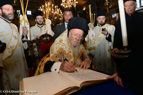 Ecumenical Patriarchate Appoints its Exarchs in Kiev