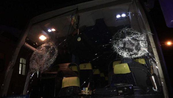 Masked Men Attack Bus Full of Ukrainian Orthodox Faithful
