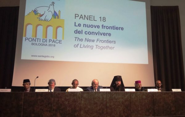 "Delegation of the ROC attends ""Bridges of Peace"" meeting in Bologna"