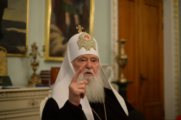"Philaret Denisenko Promises to Wait until Ukrainian Monasteries Join ""Local Church"" Voluntarily"