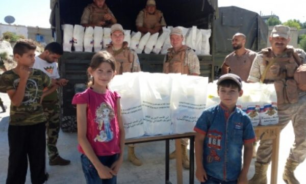 Syria's Christians Ask Russia for Humanitarian Aid