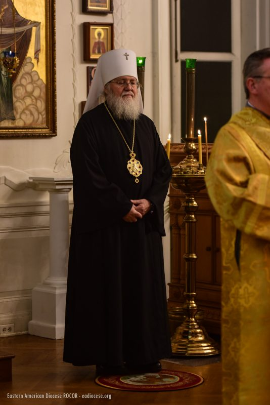The Synodal Cathedral Hosts Namesday Celebrations for the First Hierarch of the Russian Church Abroad