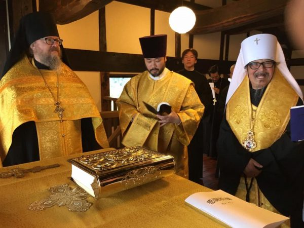 Primate of Japanese Church Celebrates Moleben of Thanksgiving at New Monastery