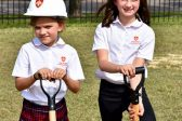 Bishop BASIL Breaks Ground for Expansion of The Saint Constantine School, Houston