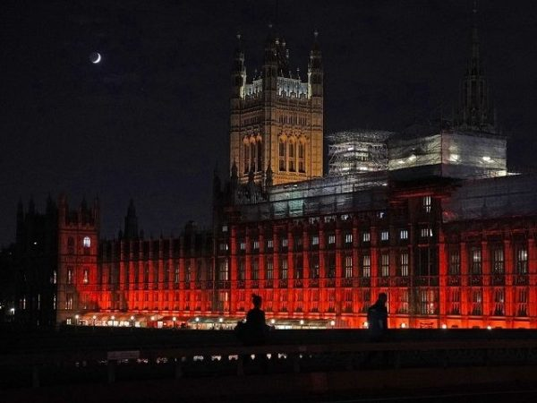 Public Buildings Lit Scarlet for Persecuted Christians