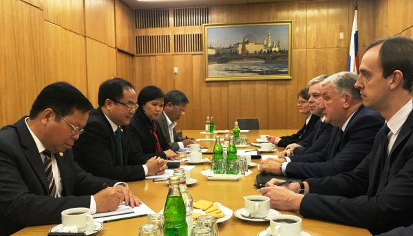 Construction of Orthodox Chapel in Vietnam discussed in Moscow