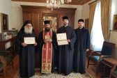 Relics of two Romanian Saints offered to Vatopedi Monastery