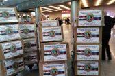 Delegation Headed by Metropolitan Hilarion Brings Humanitarian Aid to Boarding School in Syria