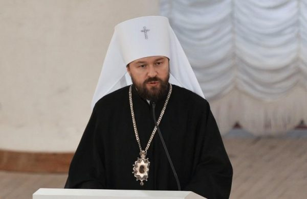 "Metropolitan Hilarion: ""We Did Not Close Doors to the Dialogue with Constantinople"""