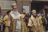 Metropolitan Tikhon presides at festal Liturgy at NYC's St. Nicholas Cathedral