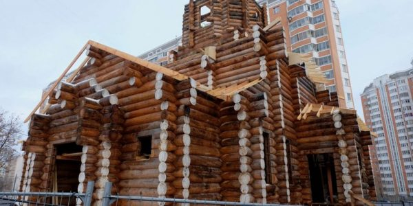 85 Churches Built in Moscow in 8 Years