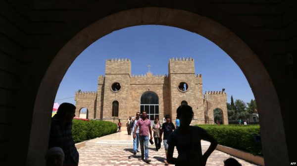 Church Rebuilding Lifts Spirits of Iraqis Post-ISIS