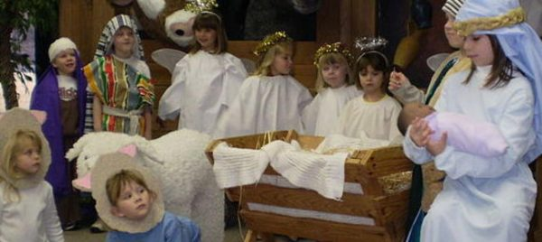 Millenials Unsure Who the Baby is in Nativity