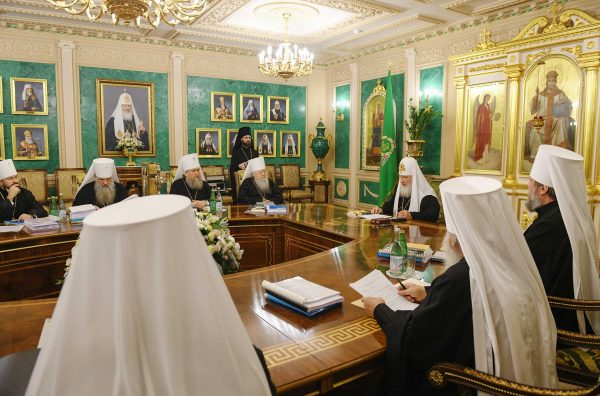 His Holiness Patriarch Kirill Chairs the Last in 2018 Session of the Holy Synod of the ROC