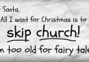Christmas – a Fairy Tale? Part One – The Necessity for Facts, The Evidence for God